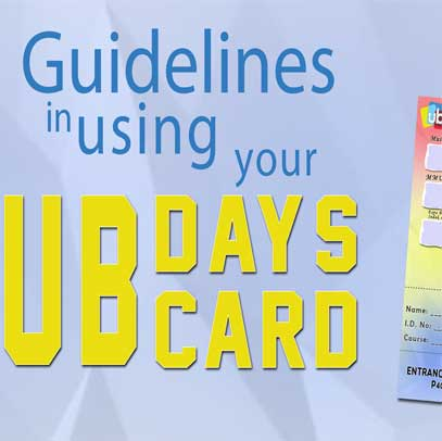 UB ID Card Guidelines